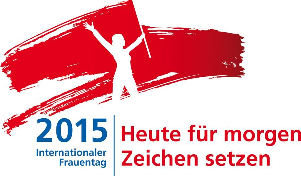 DGB-Logo zum Internationalen Frauentag 2015